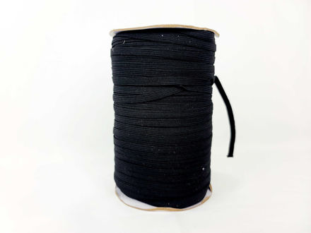 Elastic-1-rolls-200yds 1/4in-Black